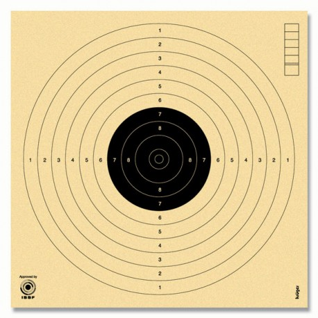 Target for air pistol