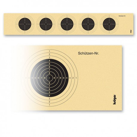 Target for air rifle10m